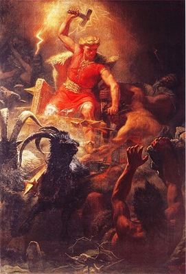 Thor's Battle Against the Giants
