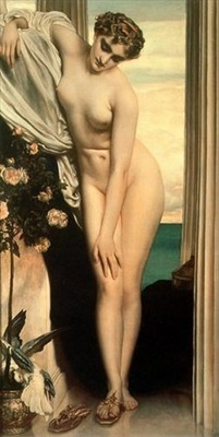 Venus Disrobing for the Bath