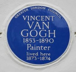 Blue Plaque - Van Gogh