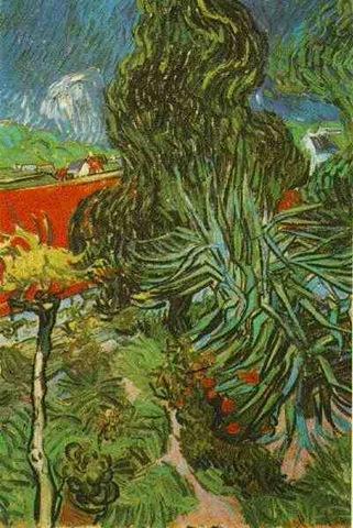 Doctor Gachet's Garden in Auvers