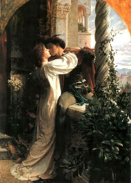 """Romeo and Juliet"" , Frank Bernard Dicksee"