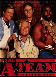 The A-Team - DVD Cover