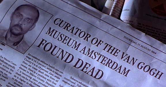 Curator Found Dead