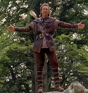 Kevin Costner as Robin Hood