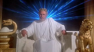 Clash of the Titans - Laurence Olivier as Zeus