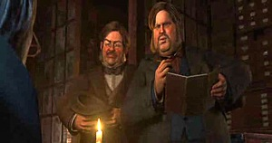 A Christmas Carol (2009) - Two Gentlemen