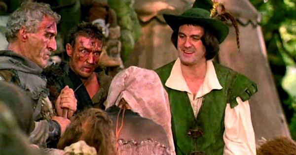 John Cleese as Robin Hood