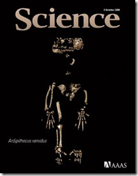 Imagem 10: capa da Science sobre Ardi.