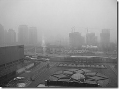 Imagem 03: Smog em Pequim, capital da China
