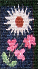 Milles Fleurs Minus 978 detail
