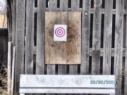 Todays printed target
