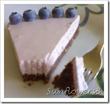 Torta fredda mirtilli e lamponi 2