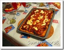 Pizza 8 stelle compleanno Giorgia