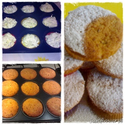 Muffin dolci alle zucchine