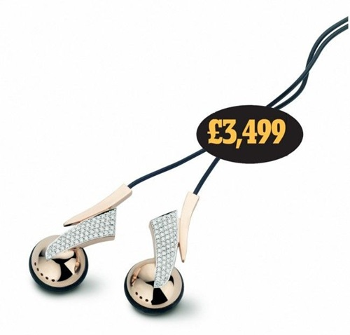 $5,346 - headphones with diamonds