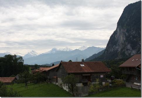Day 5 Niederstocken, view of the alps