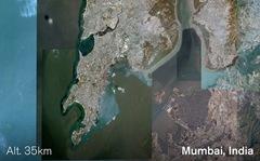 Google Earth, Mumbai
