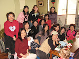 ladies from Yonghe visiting Angie in Ankeng