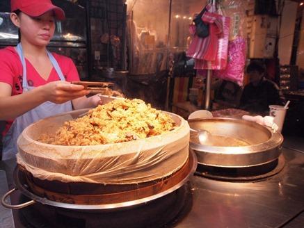 Keelung Night Market: Oily Rice