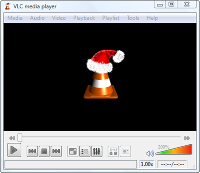 vlc full screen hat