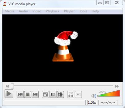 vlc full screen hat