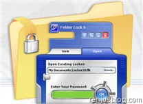 usb-flash-drive security software folderlock