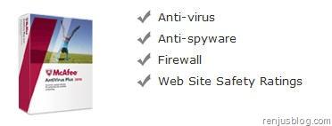 mcafee 2010 antivirus