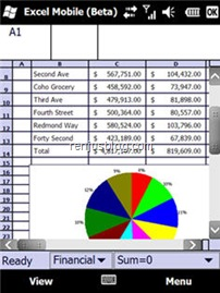 excel mobile 2010