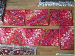 Placemats and tablerunner