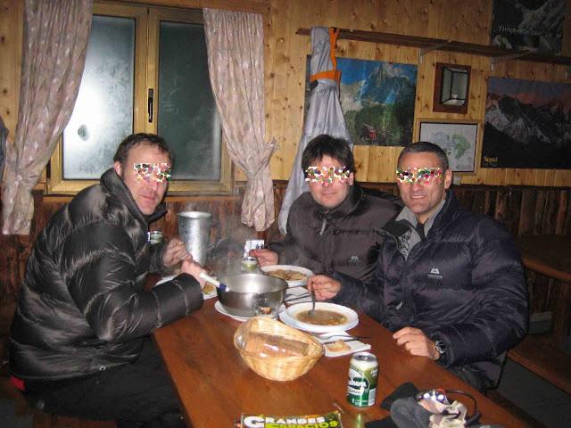 Cena en el Elola