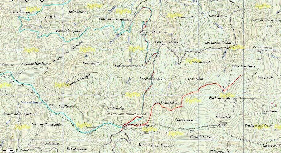 Iruelas Mapa2d