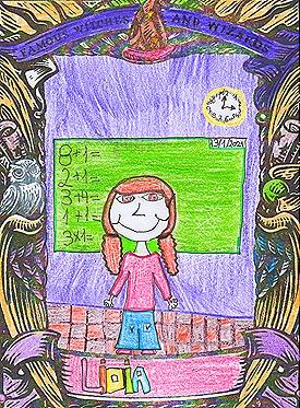 Lidia y el espejo mágico