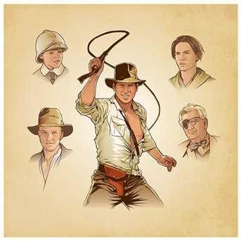 Indiana Jones, de Jessica Finson