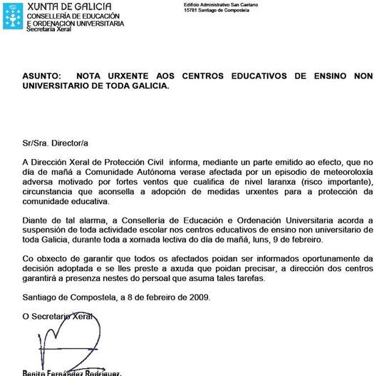 Publicado no xornal La Voz de Galicia