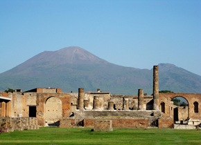 Pompeya y el volcán Vesubio