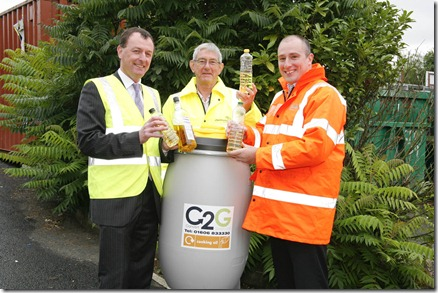 Crewe News Fuel For Thought Recycle Household Cooking Oil
