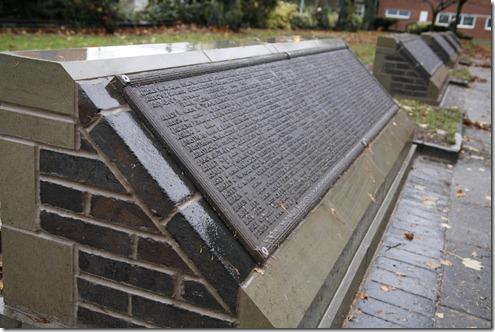 War Memorial plaques 2
