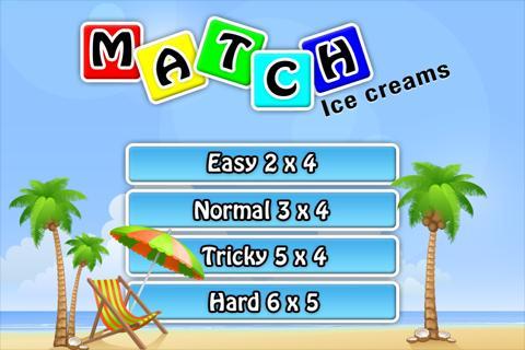 Match Ice creams