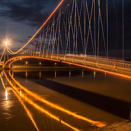 night by Eseker RI - Buildings & Architecture Bridges & Suspended Structures (  )