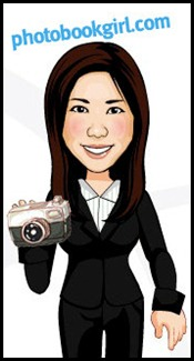 Photo Book Girl Toon