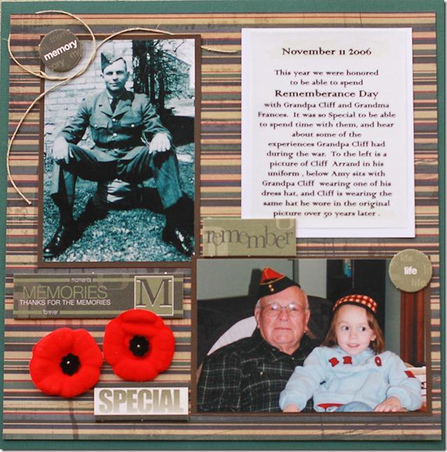WW II Veteran Gunner Clifford Arrnad