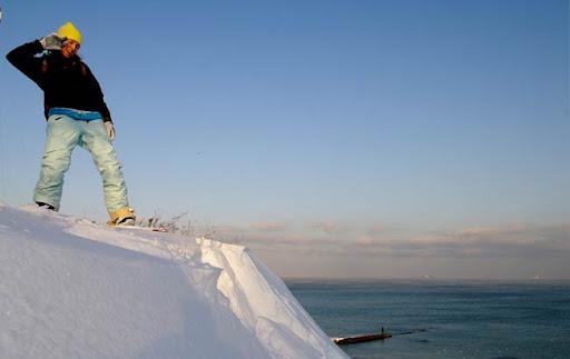 Одесса. Море. Сноубординг