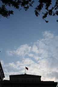 上海這幾天算是天空作美,只有這天出了稍大的太陽,不然在世博的那二天真的會被烤焦。