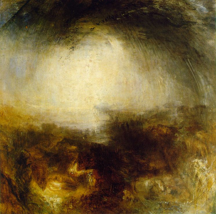 joseph mallord william turner, zondvloed (deluge)