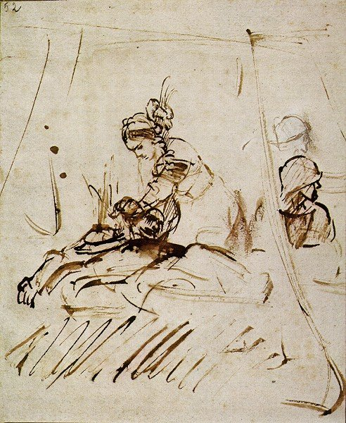 rembrandt, judith onthoofdt holofernes