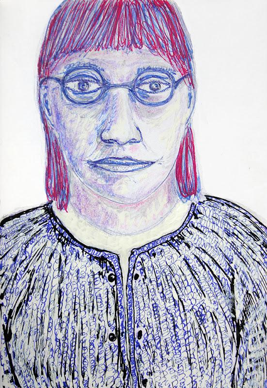 notre dame des anges with glasses, frank waaldijk