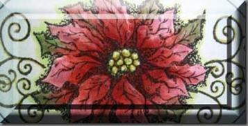 lg ornament hollyedge blk