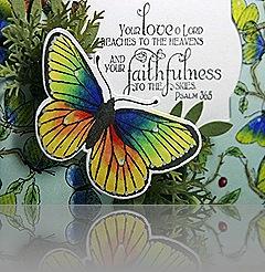 ScallopButterfly Faith clsup