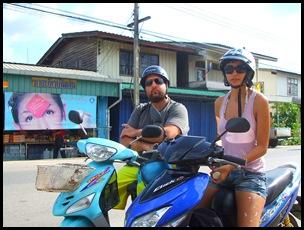 Krabi en moto