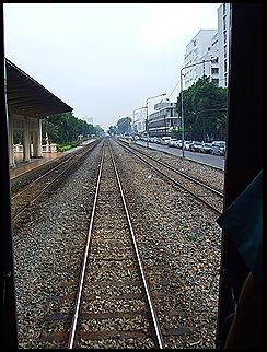 Viaje en Tren por Tailandia